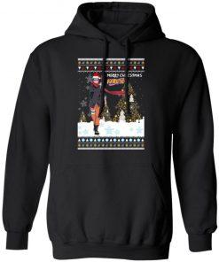 Merry Christmas Naruto The Last Naruto Shippuden Anime Ugly hoodie