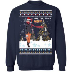 Merry Christmas Naruto The Last Naruto Shippuden Anime Ugly Sweatshirt