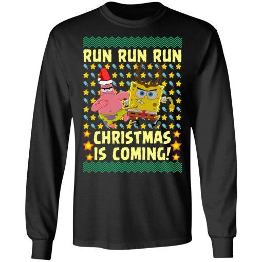 Spongebob Patrick Star Christmas Is Coming Ugly Christmas