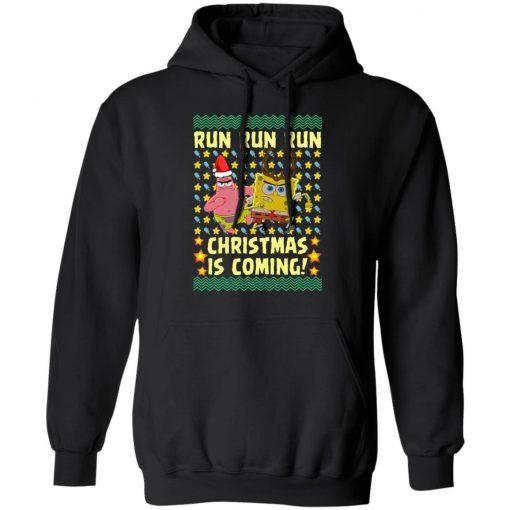Spongebob Patrick Star Christmas Is Coming Ugly Christmas hoodie