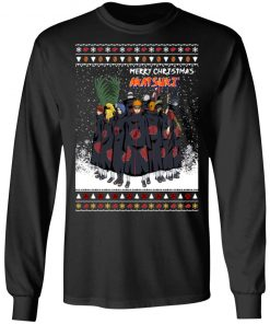 Merry Christmas Akatsuki Members Naruto Shippuden Anime