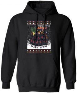 Merry Christmas Akatsuki Members Naruto Shippuden Anime Ugly hoodie