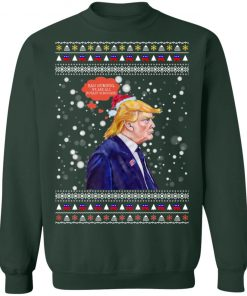 Bah Humbug We Are All Royaly Scrooged Trump Ugly Christmas Sweater