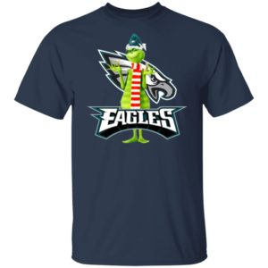 Santa Grinch Philadelphia Eagles Christmas