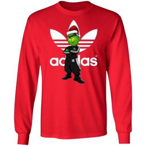 Christmas Santa Grinch Adidas