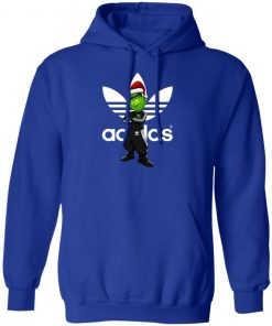 Christmas Santa Grinch Adidas hoodie