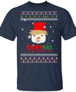 Trump Snowman Trumpmas Make Christmas Great Again Ugly Christmas shirt