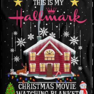 Hallmark Cozy Blankets This Is My Hallmark Christmas Movie Watching