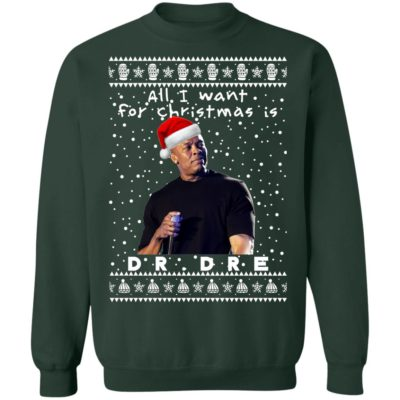 Dr.Dre Rapper Ugly Christmas Sweaters