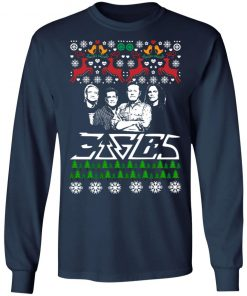 Eagles Band Ugly Christmas ls