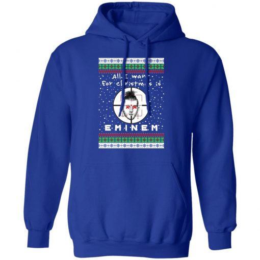 Eminem Rapper Ugly Christmas hoodie