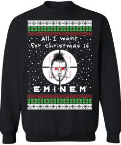 Eminem Rapper Ugly Christmas Sweater