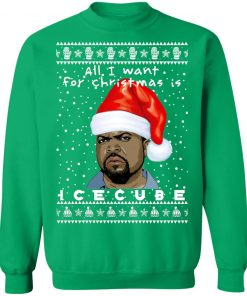 Ice Cube Rapper Ugly Christmas Sweater