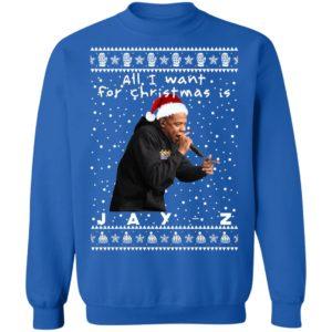 Jay-Z Rapper Ugly Christmas Sweater
