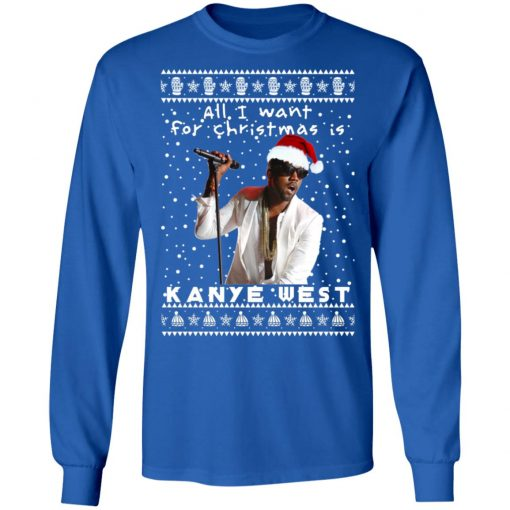 Kanye West Rapper Ugly Christmas