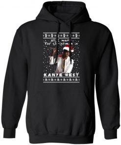 Kanye West Rapper Ugly Christmas hoodie