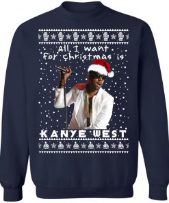 Kanye West Rapper Ugly Christmas Sweater