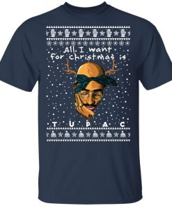 Tupac Rapper Ugly Christmas