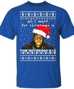 The Notorious B.I.G. Rapper Ugly Christmas