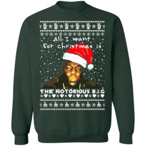 The Notorious B.I.G. Rapper Ugly Christmas Sweater