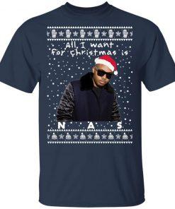 Nas Rapper Ugly Christmas