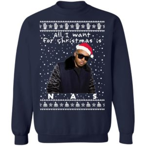 Nas Rapper Ugly Christmas Sweater