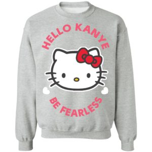 Kitty Cat Hello Kanye Be Fearless Kanye West Kim Kardashian Couple