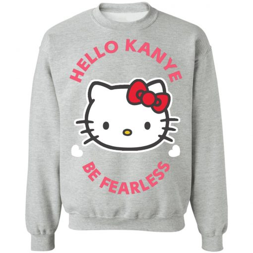 Kitty Cat Hello Kanye Be Fearless Kanye West Kim Kardashian Couple