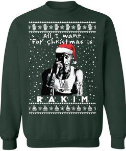 Rakim Rapper Ugly Christmas Sweater