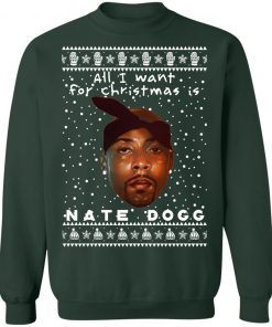 Nate Dogg Rapper Ugly Christmas Sweater
