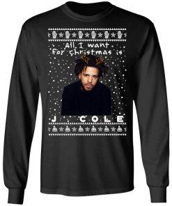 J. Cole Rapper Ugly Christmas