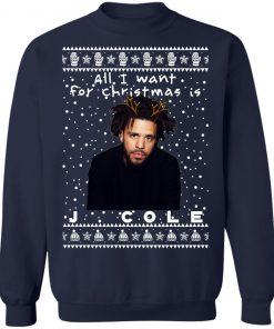 J. Cole Rapper Ugly Christmas Sweater