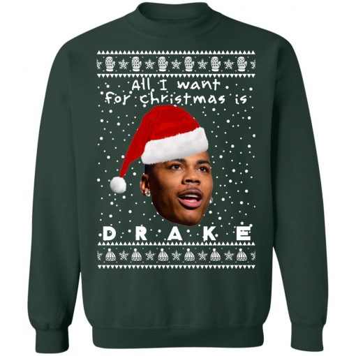 Drake Rapper Ugly Christmas Sweaters