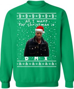 DMX Rapper Ugly Christmas Sweaters