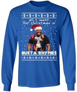 Busta Rhymes Rapper Ugly Christmas