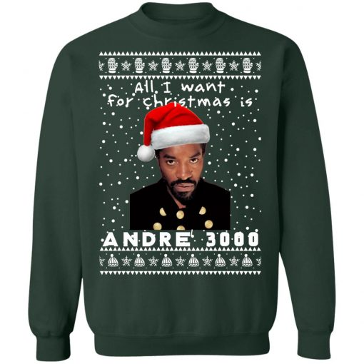 André 3000 Rapper Ugly Christmas Sweater