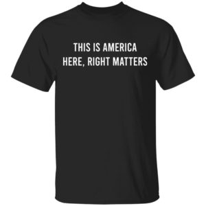 Alexander Vindman This is America Here Right Matters Shirt