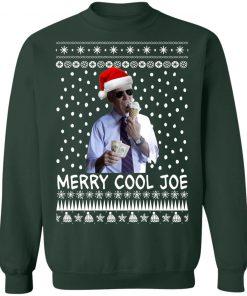 President 2020 Joe Biden Eating an Ice Cream Merry Christmas Ugly Sweater