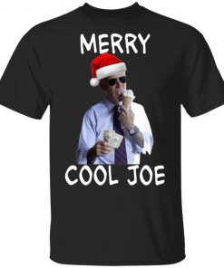 President 2020 Joe Biden Eating an Ice Cream Cone with two $10 Christmas shirt