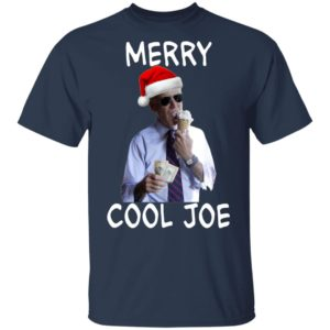 President 2020 Joe Biden Eating an Ice Cream Cone with two $10 Christmas shirt