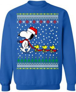 Snoopy and Woodstock Christmas Sweater