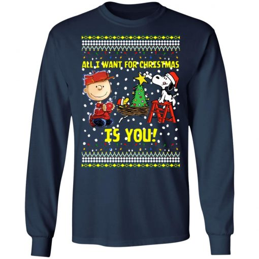 Snoopy All I Want For Christmas Is You Christmas