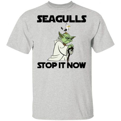 10 Seagulls Stop It Now Shirt