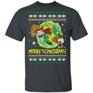 Rick and Morty Santa Claus Ugly Christmas