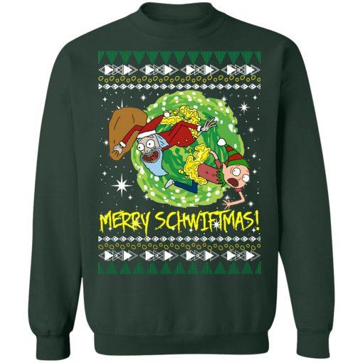 Rick and Morty Santa Claus Ugly Christmas Sweatshirt