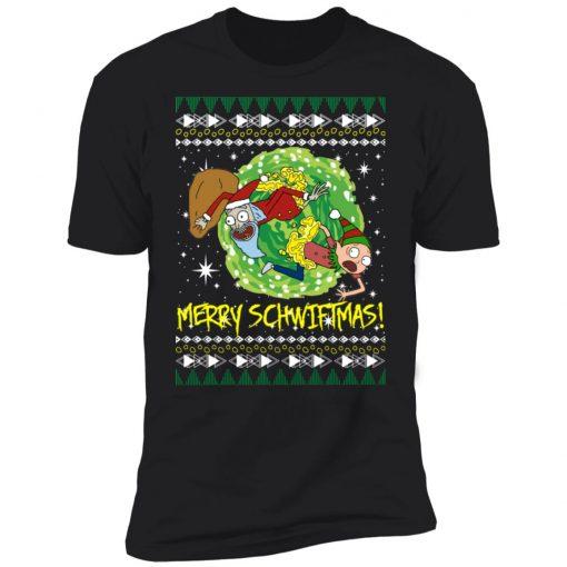 Rick and Morty Santa Claus Ugly Christmas