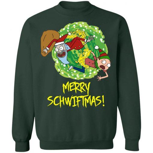 Rick and Morty Santa Claus Christmas Sweatshirt
