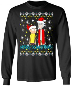 Rick and Morty Merry Schwiftmas Ugly Christmas