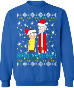Rick and Morty Merry Schwiftmas Ugly Christmas Sweatshirt