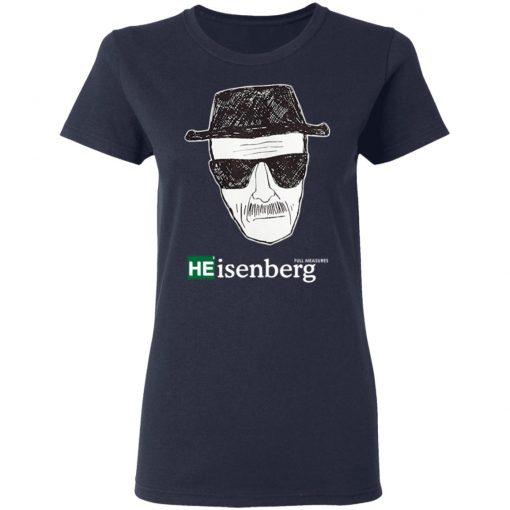 Breaking Bad Heisenberg Measures Shirt
